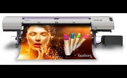 UV LED tiskárny pro potisk rolových materiálů