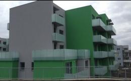 Stavba bytových domů