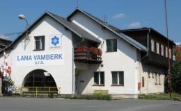 Zázemí firmy LANA VAMBERK s.r.o.