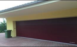 Instalujeme garážová vrata pro rodinné domy i průmyslová garážová vrata Telč, Slavonice