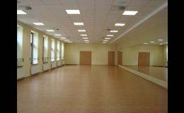 cvičební sál
