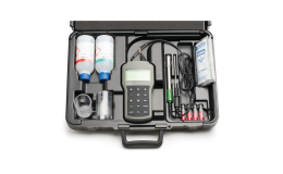 Voděodolný přenosný pH / ISE metr se sondou HI72911B