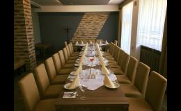 Salónek Hotelu Rozkvět pro soukromé oslavy