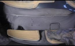 Lakování jednotlivých částí karoserie aut