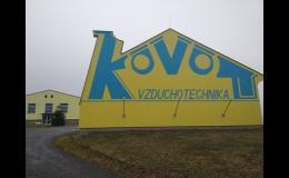 Zázemí firmy Kovo vzduchotechnika