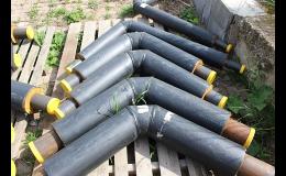 Předizolované potrubní systémy - dodávka