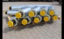 Distribuce, dodávka potrubních systémů