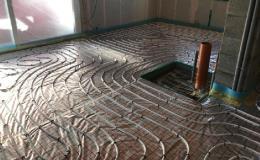 Instalace podlahového vytápění Dolní Lhota