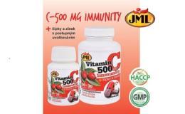JML Immunity - Vitamín C500 s šípky a zinkem