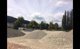 Prodej písku a zeminy Zlín
