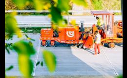Kvalitní cestařské stroje pro opravu komunikací