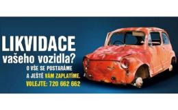 likvidace Vašeho vozidla - Zlín