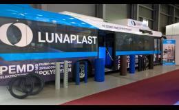 Luna plast - výstavní autobus