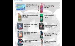 Prodej olejů a maziv