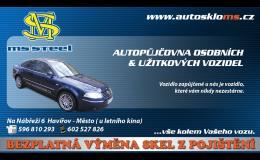autopůjčovna osobních a užitkových vozidel