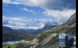 Nákladní kamionová přeprava