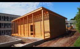Dřevěné stavby - Venkovní učebna pro ZŠ