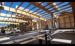 CNC výroba dřevěných konstrukcí
