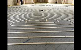Realizace podlahového topení