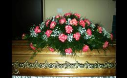 Pohřební služba Opava, květinová výzdoba