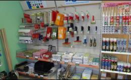 Velkoobchodní a maloobchodní prodej stavebních hmot