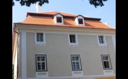 Opravy a rekonstrukce střech historických objektů