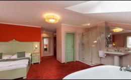 Prostorné ubytování v apartmánech