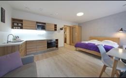 Komfortní ubytování v soukromých apartmánech