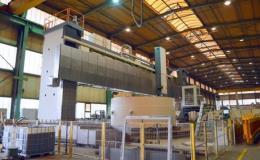 Výroba těžkých obráběcích strojů - karusely