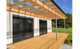 Dodejte vašemu domu elegantní vzhled díky venkovním žaluziím