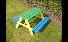 Zahradní nábytek-pikniková souprava pro děti