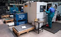 CNC obrábění, obrábění strojírenských dílů