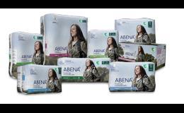 Inkontinenční savé pomůcky od společnosti ABENA A/S