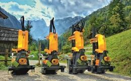 Stroje UNIFOREST na řezání, štípání dřeva