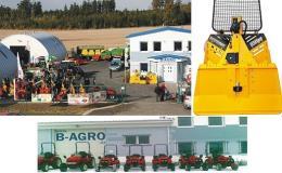 Široký výběr komunální, zemědělské a lesní techniky