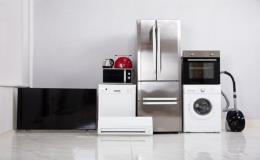 E-shop domácí spotřebiče, pračka, sušička a lednička