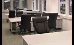 Kancelářské vestavby a dělící příčky
