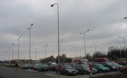 Ocelové stožáry osvětlovací, silniční i železniční