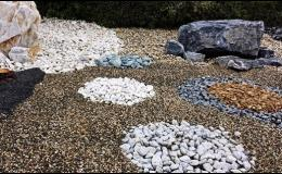 Dekorační kamenivo k prodeji