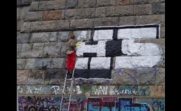 Odstranění graffiti, antigraffiti nátěry