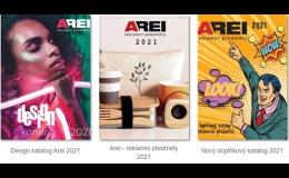 Reklamní novinky od Arei rok 2021