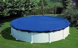 Bazénové plachty kruhového či oválného tvaru