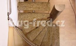 Obložení schodů Opava