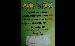 Prodej použitých autodílů všech značek za nízké ceny Lysovice