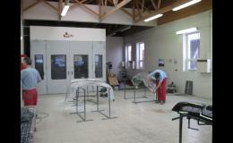 Nově otevřená lakovna v Autoservisu Daníček