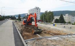 Práce s bagrem a bagrování Brno, Blansko