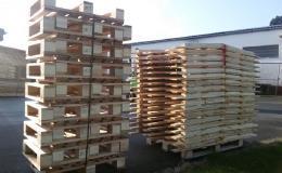Výroba dřevěných palet Bohuňovice