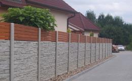 Betonové ploty, sloupky i obrubníky za přijatelné ceny