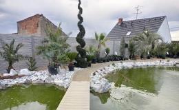 Levné stylové betonové ploty