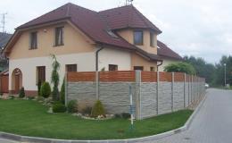 Velký výběr stylových betonových plotů